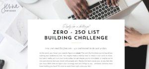 Jenna Kutcher free email list building tool